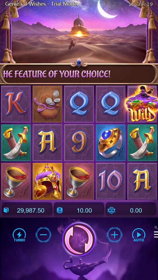 pgslot Genie's 3 Wishes